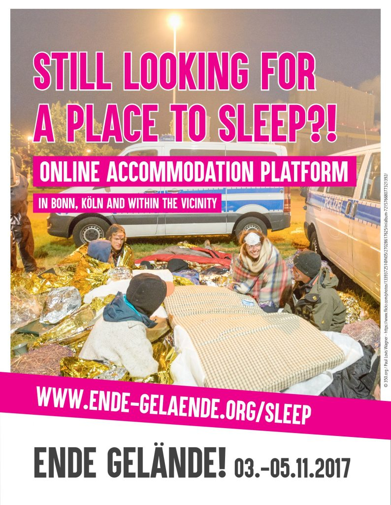 Still looking for a place to sleep?